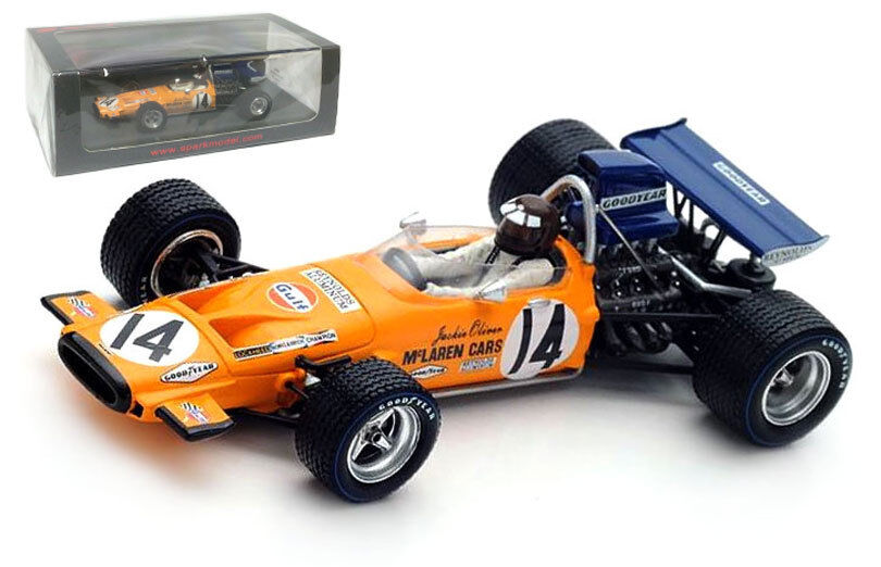 Spark S4845 McLaren M14A italiano GP 1971-Jackie Oliver 1 43 Escala