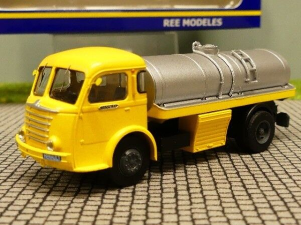 1 87 REE MODELES PANHARD MOVIC Vin-camion jaune cb-097