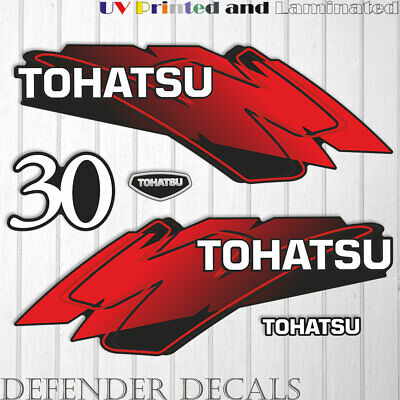OUTBOARD  DECALS 30 hp TOHATSU