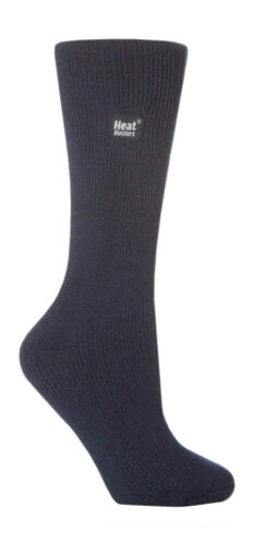 37-42 eur Navy Blue Heat Holder Original length Thermal Socks 4-8 uk 5-9 USA