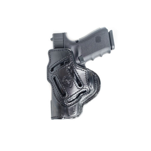 MULTI-CARRY HOLSTER FOR SIG SAUER P938 4 IN 1 IWB /& OWB LEATHER HOLSTER