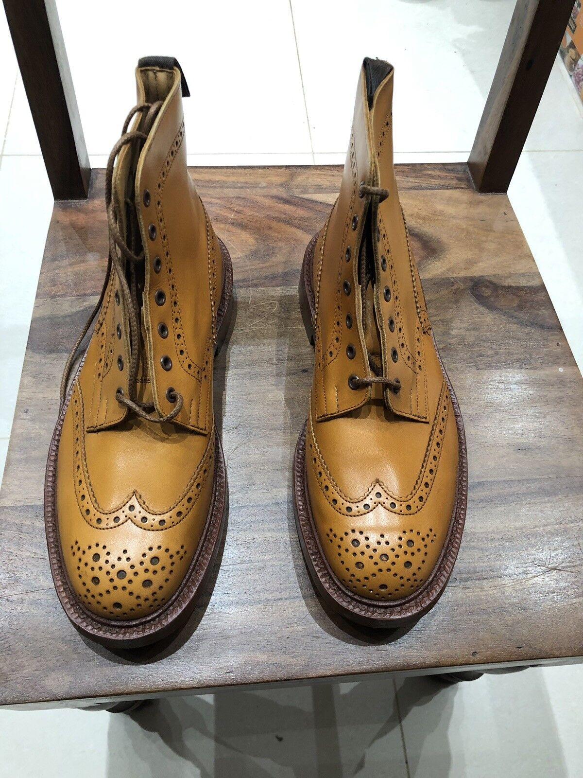 Trickers Stow Acorn Antiguo botas talla UK10 montaje 5