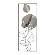 NTK-Collection Wanddeko Silhouette Chic Wandbild Metallbild 3D Optik