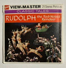 SEALED vtg 1955 RODOLPH The RED NOSED REINDEER Santa View-Master 3 Reel Set NEW