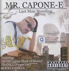 Last Man Standing 0720657906028 by Mr. Capone-e CD