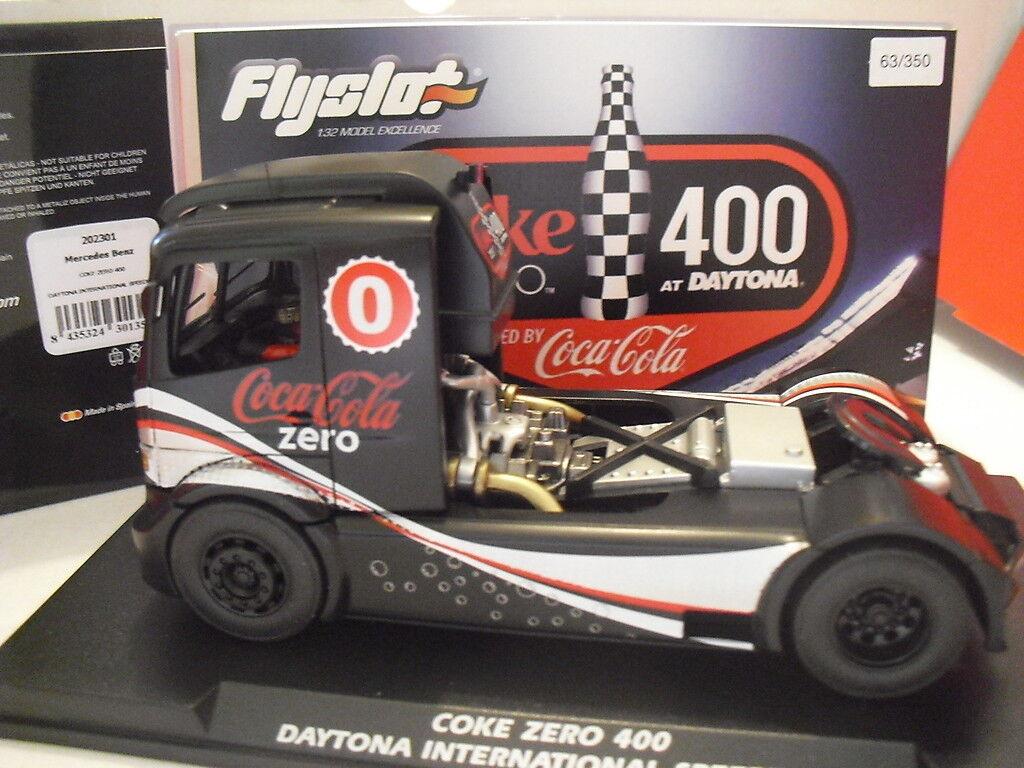 TRUCK Mercedes Mercedes Mercedes Daytona International Speedway Coke Zero Ref.202301 Ed. Lta New  en stock
