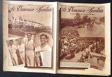 1932 DOMENICA SPORTIVA Circuito Castelli Romani Mara Binda Olimpiadi Los Angeles
