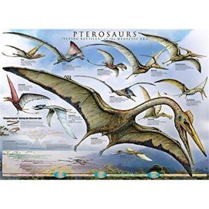 Eurographics-Puzzle-1000-piezas-pterosaurs-eg60000680-Puzle-Rompecabezas