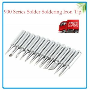 NEW  Soldering Iron Tips 900M-T Series for Solder Rework Station Repair Tool