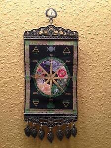 Pagan-Calendar-Wheel-of-the-Year-Mini-Turkish-Carpet-Wall-Hanging