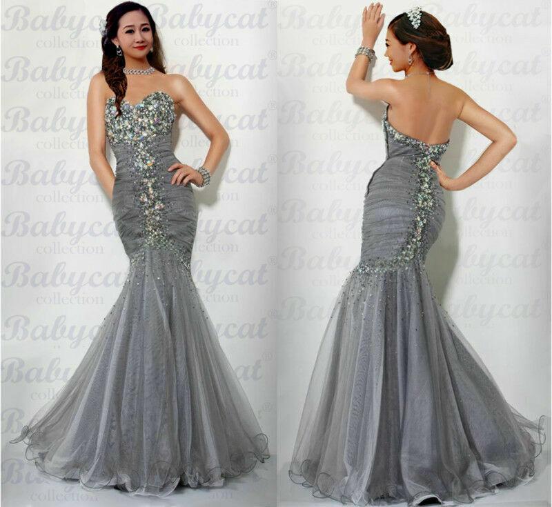 Mermaid Abendkleid Ballkleid Verlobungskleid Party Kleid Babycat collection A53