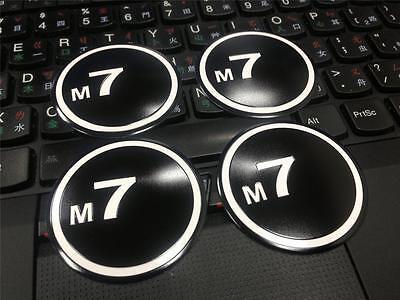 M7 Wheel Emblem/plaque for MINI Cooper S JCW R50-R61 Paceman JCW Clubman Coupe