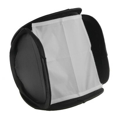 """9"""" 23cm Photography Portable Foldable Softbox Diffuser For Flash Speed light Kit"""