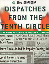 The Onion - Dispatches from the Tenth Circle: the Best of the Onion, Robert Sieg