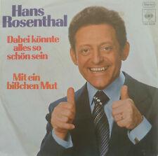 """7"""" 1976 RARE MINT- ! HANS ROSENTHAL : Dabei könnte alles so schön sein"""