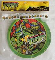 Ninja Turtles 1-green Plastic Happy Birthday Banner 8ft L, Birthday Party