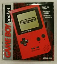 Nintendo Game Boy Pocket - RED - Brand New & Factory Sealed Near Mint