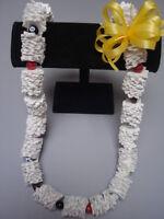 Hawaiian Recycled Paper Lei Sports Ball Graduation Gift