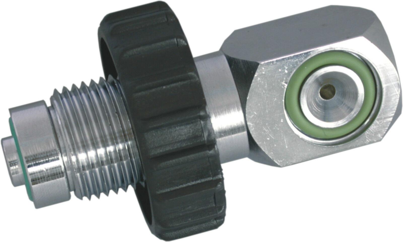 OTTER 232 BAR A-clamp 300 BAR DIN Male Charging adaptor. - AD A3DM