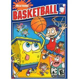 Nicktoons basketball nickelodeon spongebob jimmy neutron sports.