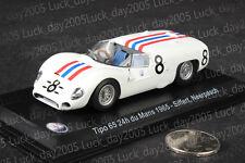 Maserati Tipo 65 24th du Mans 1965 #8 Siffert Neerpasch 1/43 Diecast Model