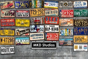 Metal Signs, License Plates, Memorabilia - Multi Discount