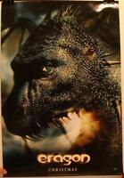 Eragon 13 1/2 X 20 Promo Movie Poster Christmas Teaser Christopher Paolini