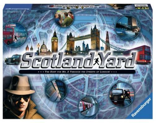 SCOTLAND YARD RAVENSBURGER CHILDRENS GAME