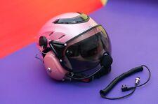 MX-02 PPG Helmet Visor Powered Paragliding Paramotor Headset GoPro Base Pink