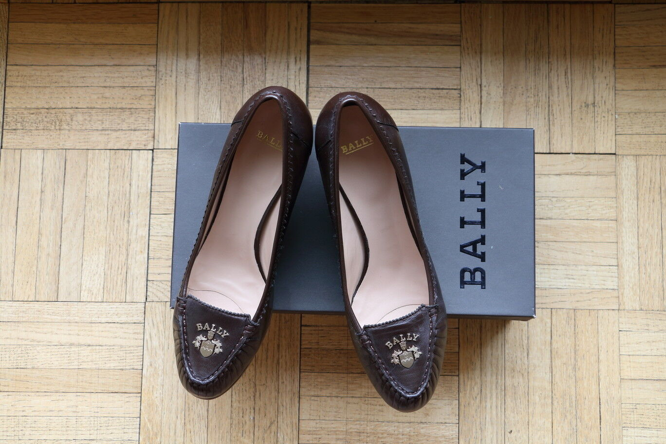 New BALLY BALLY New Brown