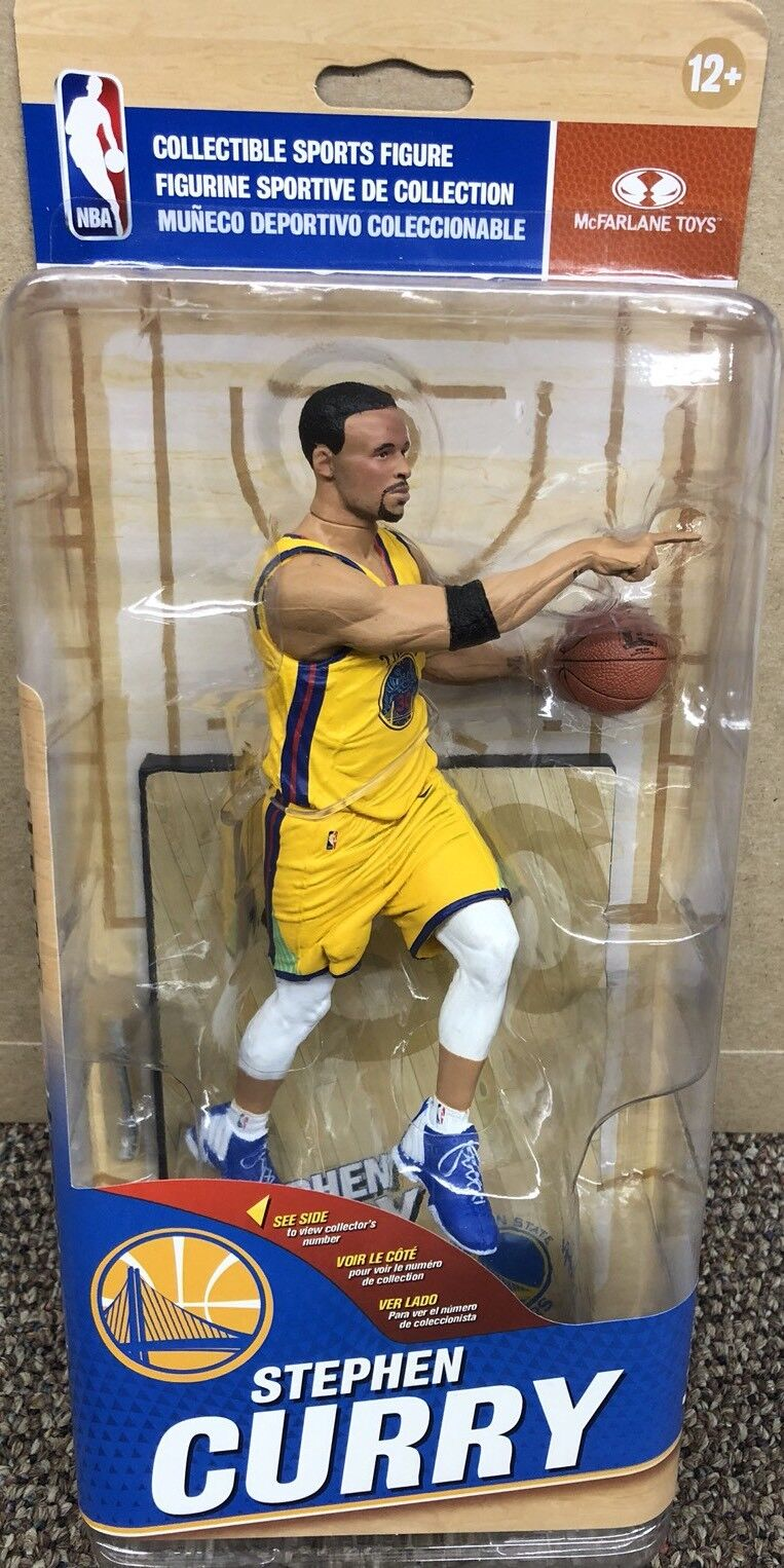 Mcfarlane NBA golden State Warriors Series 32 Stephen Curry Action Figure. 50.