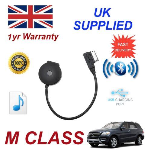 Para Mercedes Clase M Bluetooth streaming Stick USB Carga /& Cable MB-MMI-BT001