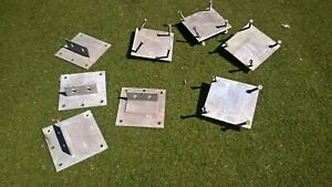 building wall structural brackets, gable end plates gable end  structural plates