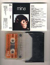 Mc MINA La scimmia - PDU 1971 Musicassetta Prima edizione Omonimo Same
