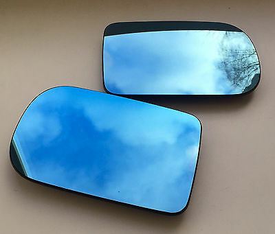 Pair of BMW 5-series E39 1994-2003 Large side Door Mirror Glass Backing Plate
