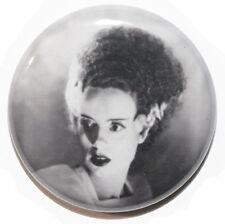 "1"" (25mm) Bride of Frankenstein 1935 Horror Movie  Button Badge Pin High Quality"