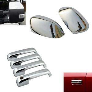2PCS Chrome Door Mirror Covers for Ford F250-f550 F250 F350 F450 Super Duty