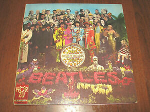 The-BEATLES-Sgt-Pepper-039-s-and-1967-Odeon-Germany-Edit-VG-to-EX