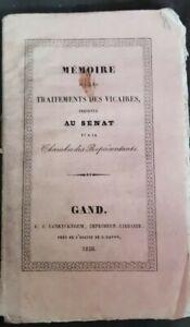 1836-projet-de-loi-sur-les-vicaires-memoires-Senat-Chambre-Belgicana-vicaires