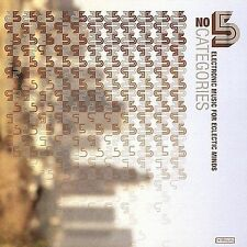 No Categories, Vol. 5: Electronic Music for Eclectic Minds by Various Artists...