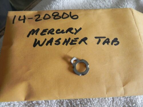 Mercury Outboard Tab Washer P# 14-20806 Brand New OEM