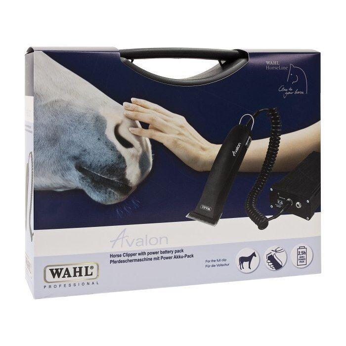 Wahl Avalon cortauñas inalámbrico Caballo Conjunto de regalo negro  alta calidad nueva marca
