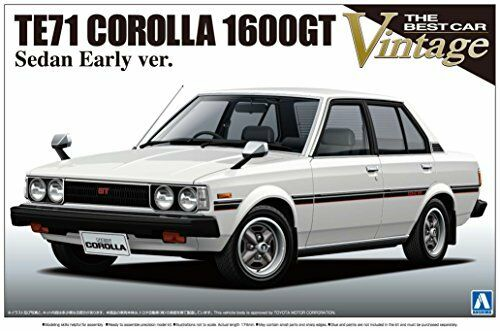 NY 1  24 The bäst bil årgång Series nr.38 leksakota TE71 Cguldlla sedan 1600GT F  S