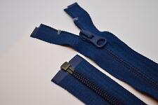YKK Reißverschluss 1Wege blaugrau teilbar 110cm lang 5mm Spirale