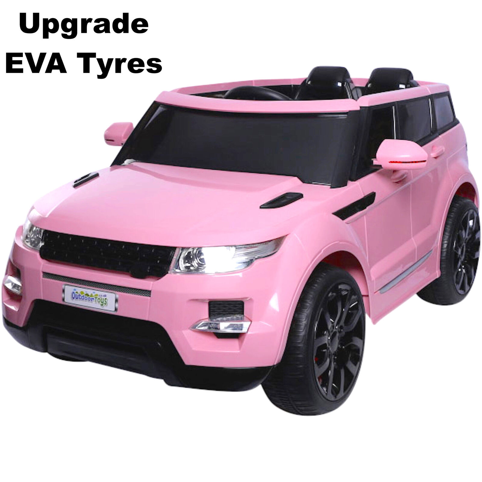 Maxi HSE Sport Style 12V Electric Battery Ride on Jeep - Pink EVA