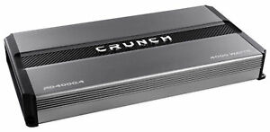 Crunch-PD4000-4-4000-Watt-4-Channel-Pro-Power-Car-Audio-Amplifier-Class-AB-Amp