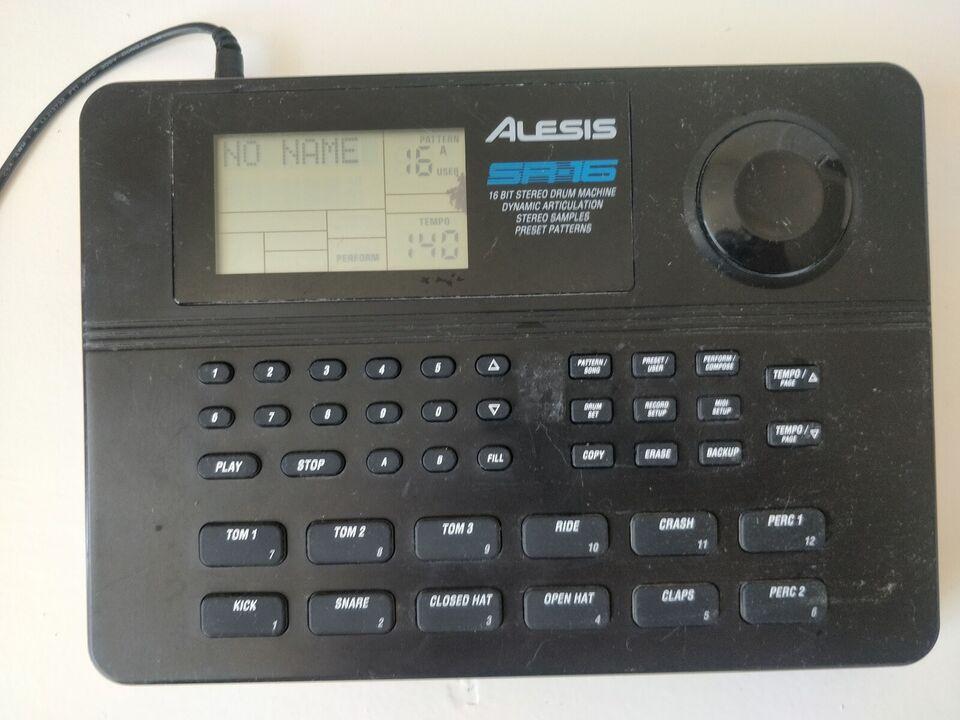 Groovebox, Alesis sr16