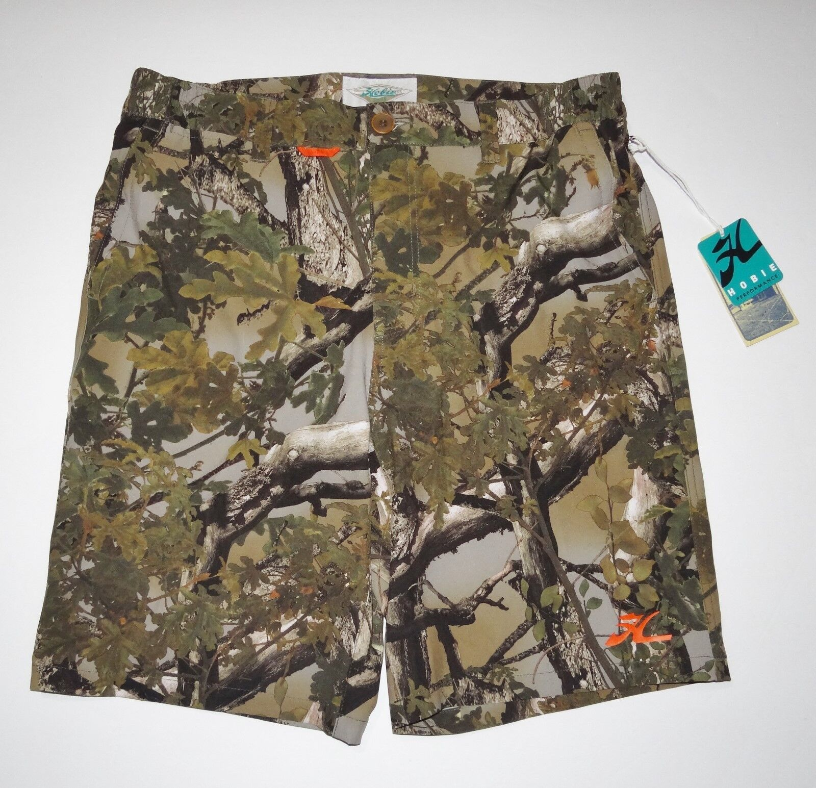 349f77bcc00d0 New Hobie By Hurley Expedition Performance UPF 40 Walk Shorts Size ...
