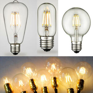E27-B22-2W-4W-6W-8W-Edison-LED-Filament-Bulbs-Industrial-Lights-Clear-Glass-Lamp