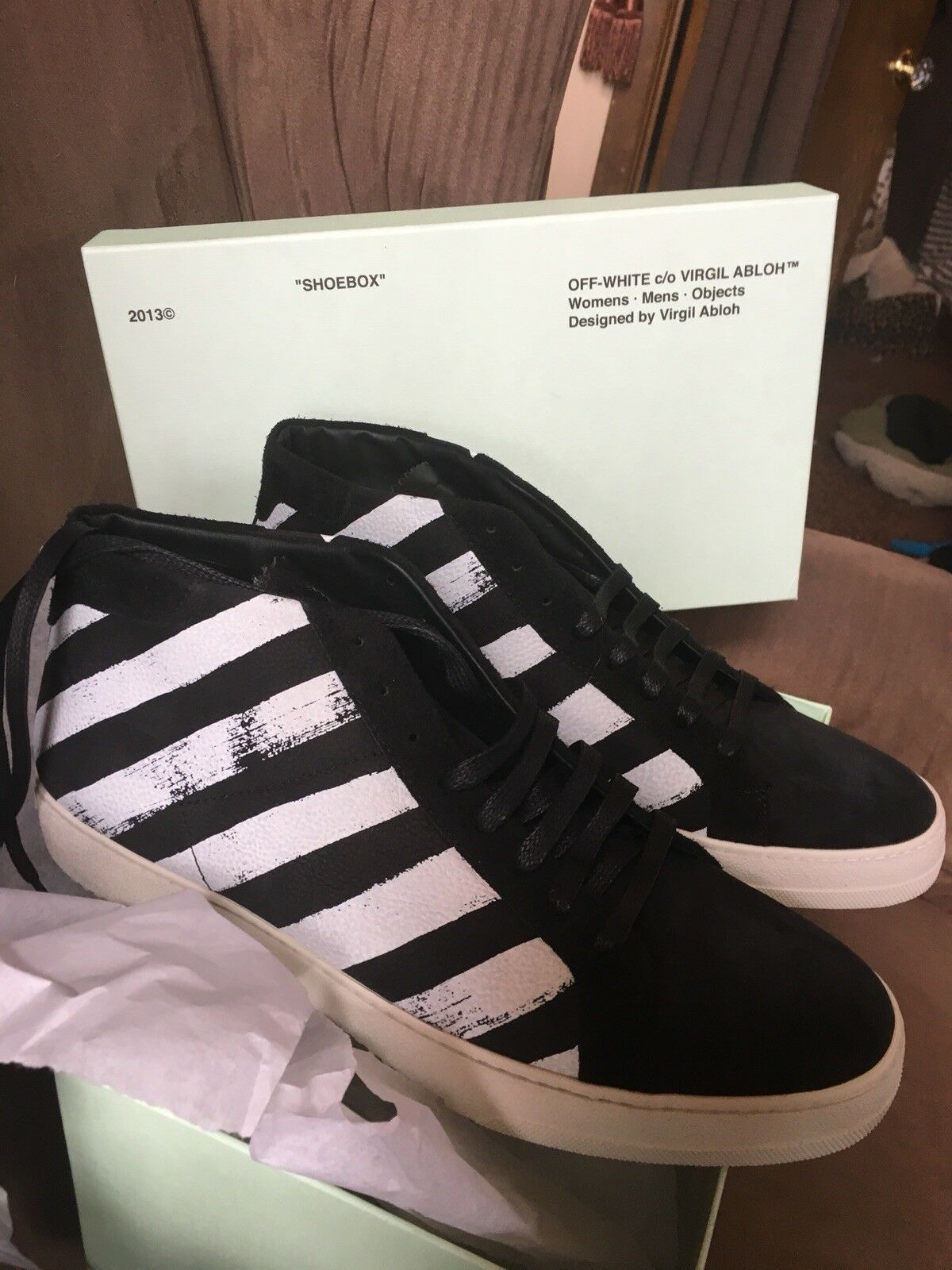Off-White™ c o VIRGIL ABLOH Sneakers Mens US Size 11 100%Authentic